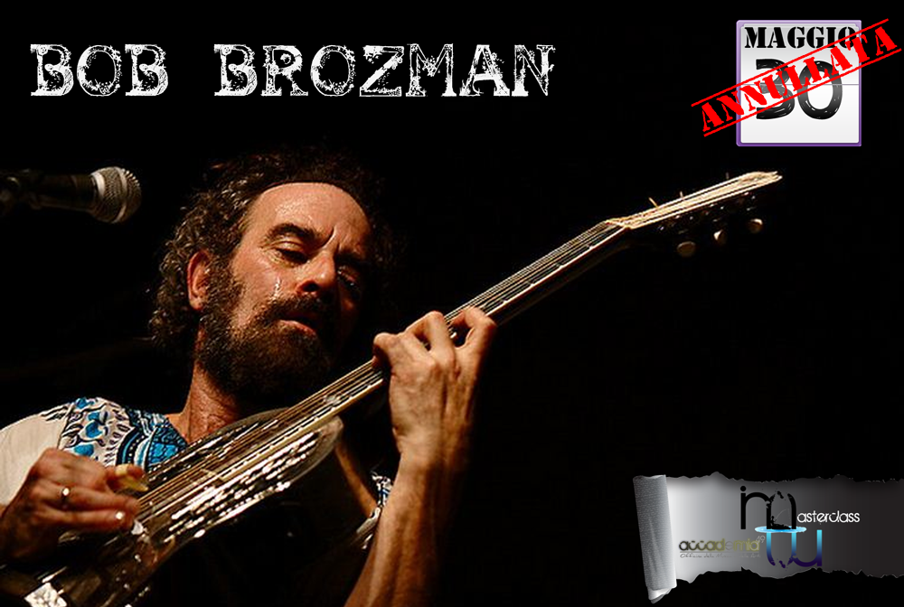 Bob Brozman - The king of National Guitar - Master Class @ Accademia 49