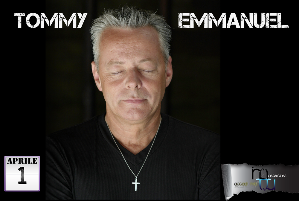 Tommy Emmanuel - 01 Aprile 2012 Master Class @ Accademia 49